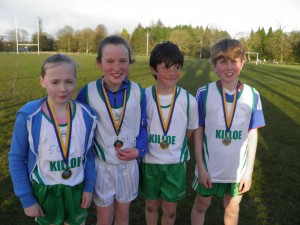 Killoe National School God Medal Winners