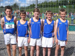 U13 Boys Relay Team