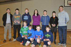Longford AC Juveniles Outstanding Achievements 2014 Boys